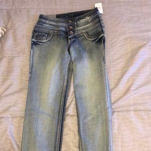 rue 21 high waisted skinny jeans